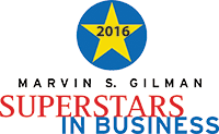 Marvin S. Gilman Superstars in Business Award logo